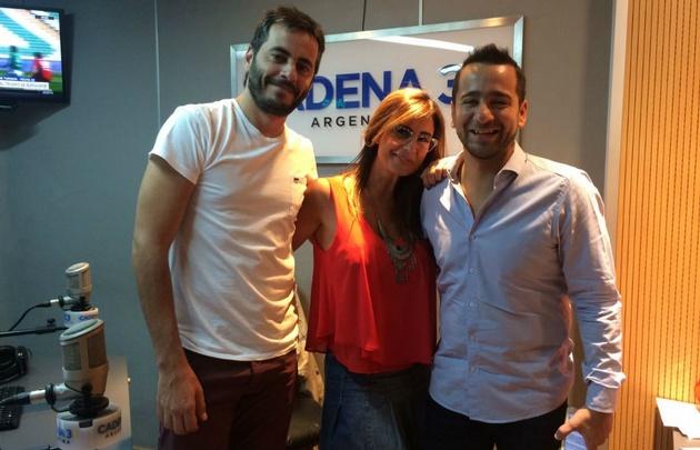 Camilo y Nardo en Gaby Tessio en Verano.
