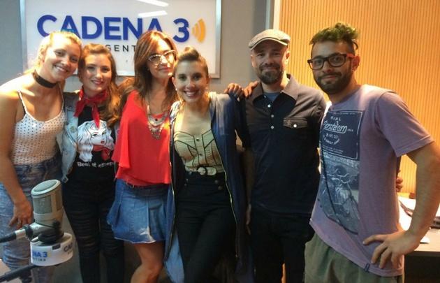 The Ginger Hearts visitó Gaby Tessio en Verano