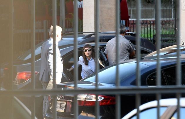 Florencia Kirchner llega a Comodoro Py