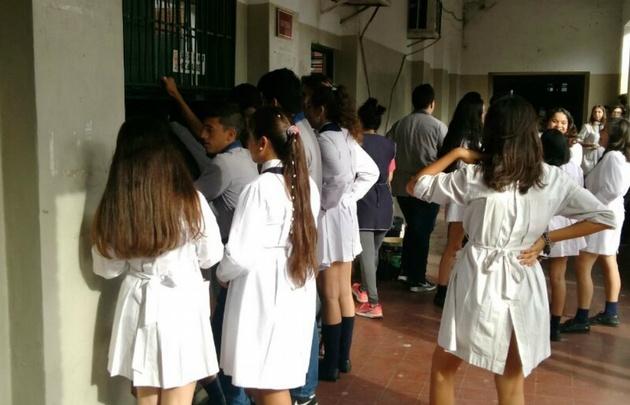 Las clases se registraron con normalidad en gran parte del país (Foto de archivo)