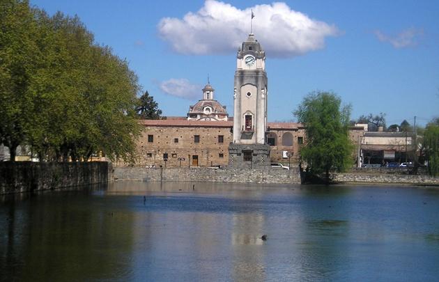 FOTO: Tajamar, lugar de interés histórico en Alta Gracia.