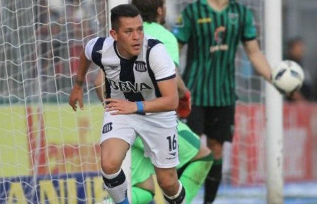 El chileno Muñoz Rojas buscará más minutos este año en Talleres (Foto: Archivo)