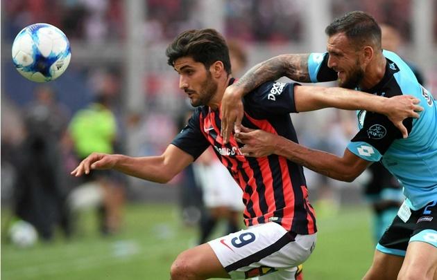 San Lorenzo superó a Belgrano en el Nuevo Gasómetro.
