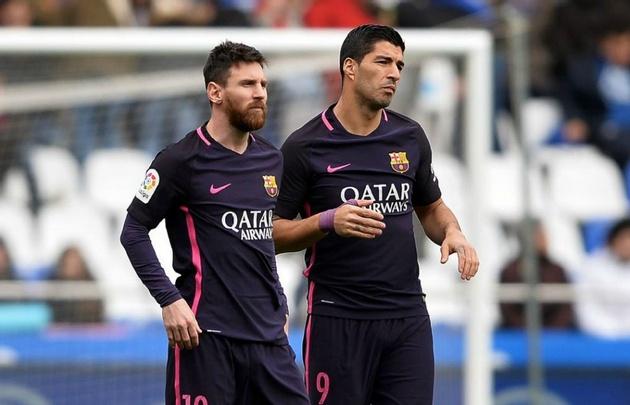 Messi y Suárez no encontraron el camino y Barcelona perdió.