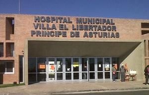 El joven terminó internado en el Hospital Príncipe de Asturias (Foto: Archivo)