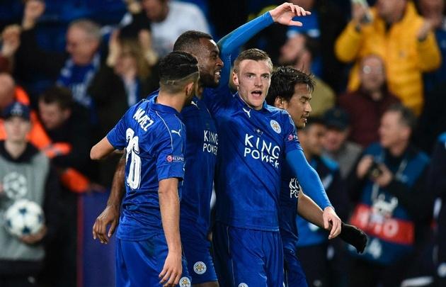 Leicester logró una histórica clasificación a cuartos de la Champions.