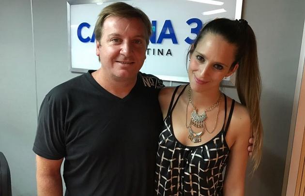 Naty Medina en Viva la Radio.
