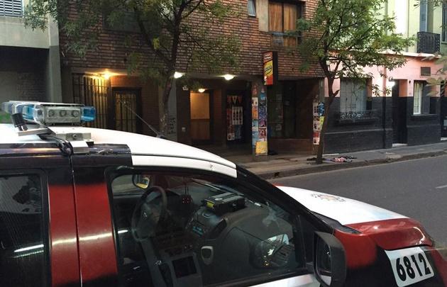 El hombre fue encontrado en Belgrano 560, en Güemes.