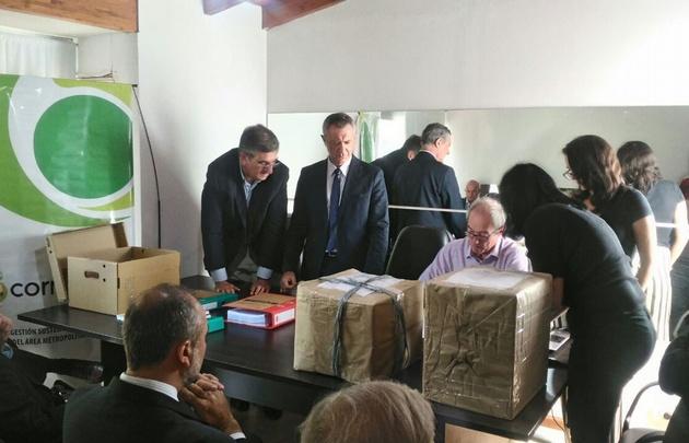 La apertura de sobres se realizó en la sede de Cormecor.