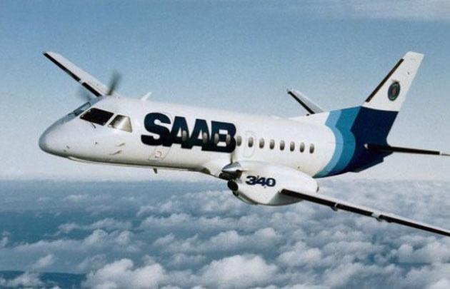 Los aviones son Saab 340, con capacidad para entre 30 y 36 pasajeros.