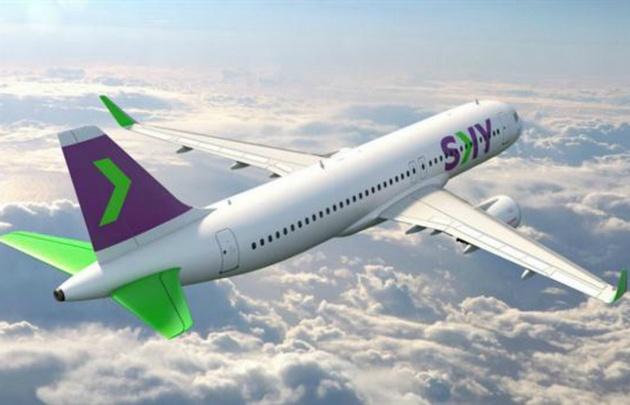 Sky Airlines fue la primer low cost en pisar suelo argentino, con rutas a Santiago de Chile.