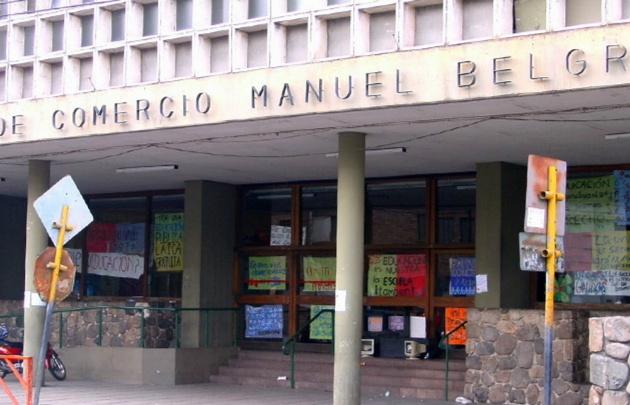 En el Belgrano, los chicos esperan que se normalicen las clases.