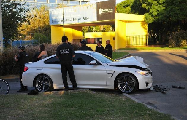 Jorge Luis Miguel manejaba un BMW valuado en 170 mil dólares.