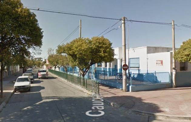 La escuela queda en Punilla y Caucete (Foto: Google Street View)