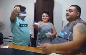 Mariano Páez, el papá de Talleres del video difundido por 'Talleres es Pasión'.