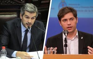Peña y Kicillof animaron un picante cruce en Diputados.