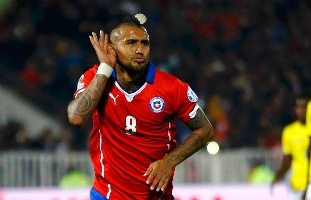 Arturo Vidal es uno de los emblemas del seleccionado chileno.