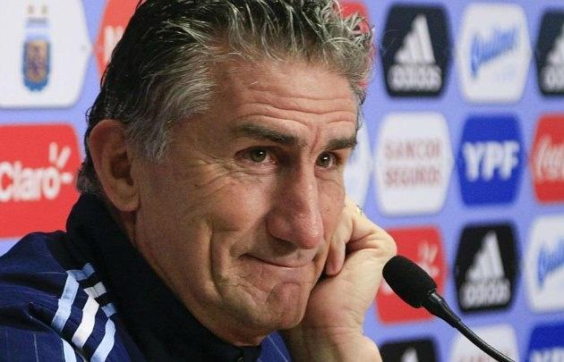 Bauza confirmó el equipo titular para el duelo ante Chile.