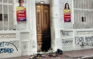 Fuerte repudio al ataque a la sede del PRO.