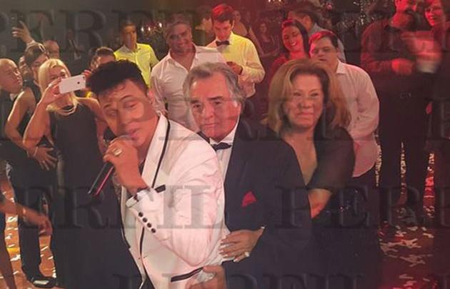 Barrionuevo festejó a lo Don Corleone. (Foto: Perfil)