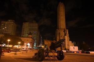 El Monumento a la Bandera de Rosario se sumó a ''La Hora del Planeta''.