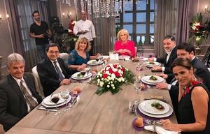 Fuerte cruce entre Nicolás Wiñazki y Raúl Rizzo en el programa de Mirtha Legrand.