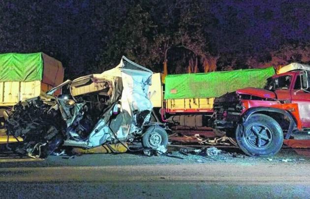 Así quedaron los vehículos luego del trágico accidente