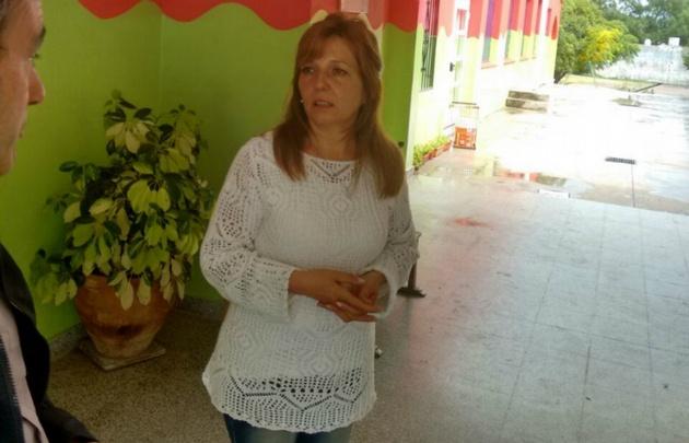 Miriam Ruiz, directora del colegio Alfredo Benítez de La Cumbre.