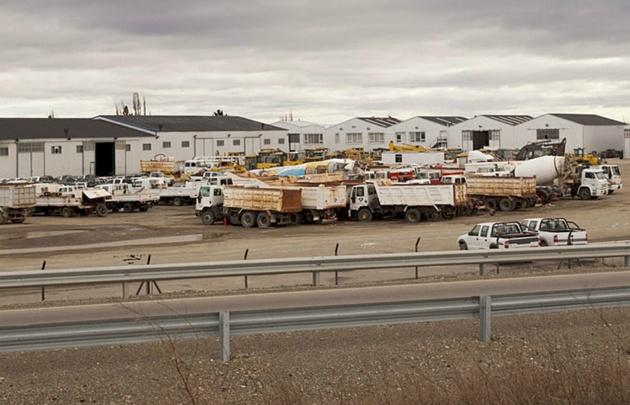 La Dirección de Vialidad podrá disponer del equipamiento de Austral Construcciones.
