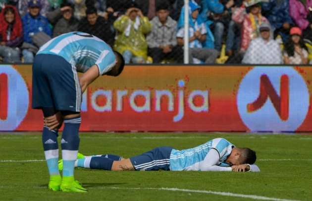 El equipo albiceleste acusó el duro golpe de la suspensión de Messi.