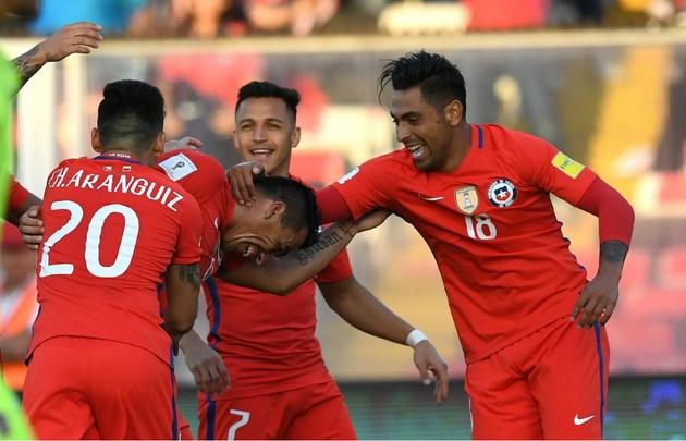 Chile venció a Venezuela y desplazó a Argentina al repechaje.