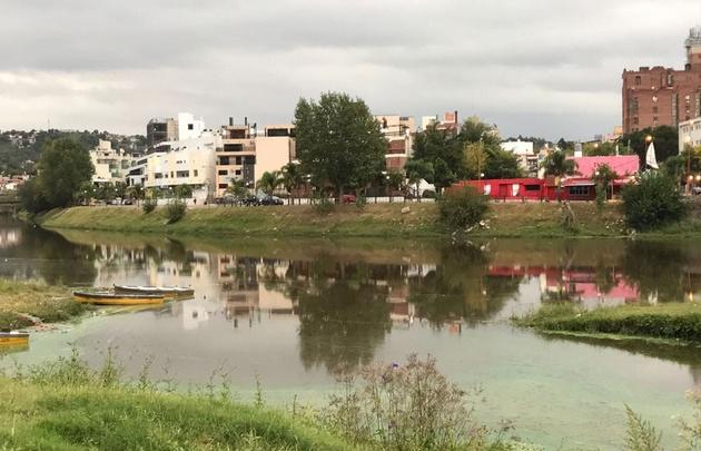 Lago San Roque después de las lluvias