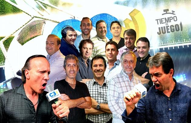 Tiempo de Juego, La Central Deportiva y Platea Numerada con todo el fútbol en Cadena3