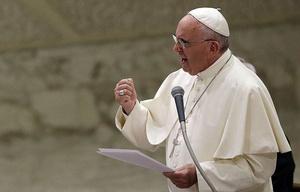 El Papa se refirió a la grave situación de Venezuela.