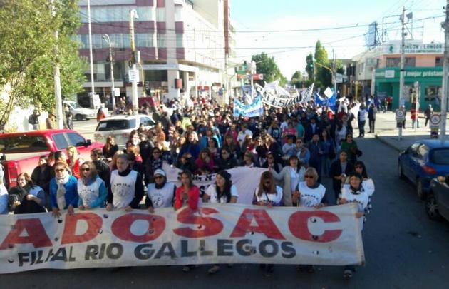 En Río Gallegos, se profundiza el conflicto docente.