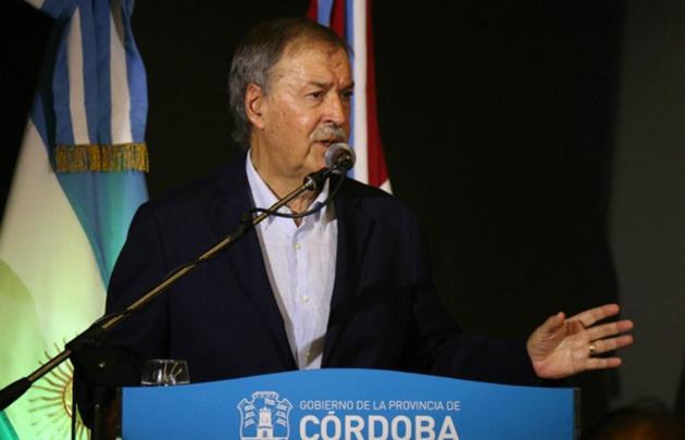 Juan Schiaretti, gobernador de Córdoba.