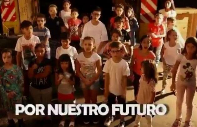 En un video, los niños llaman al paro de la CGT.