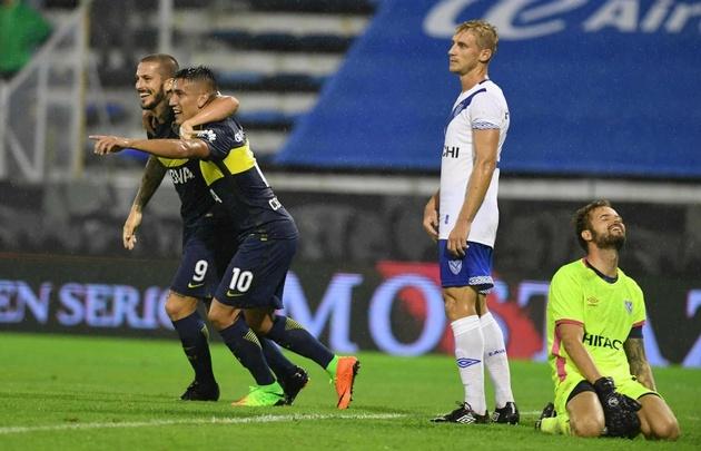 Boca venció a Vélez y se consolidó en la cima del torneo.