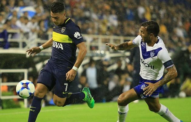 Cristian Pavón fue clave para el triunfo de Boca en Liniers.