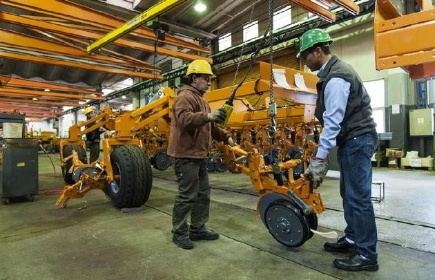 La venta de maquinarias agrícolas subió un 40% en el primer trimestre.