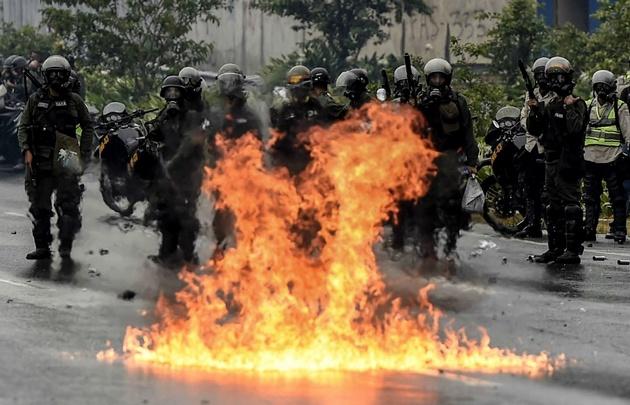 Las protestas contra Maduro en Venezuela se cobraron otra vida.