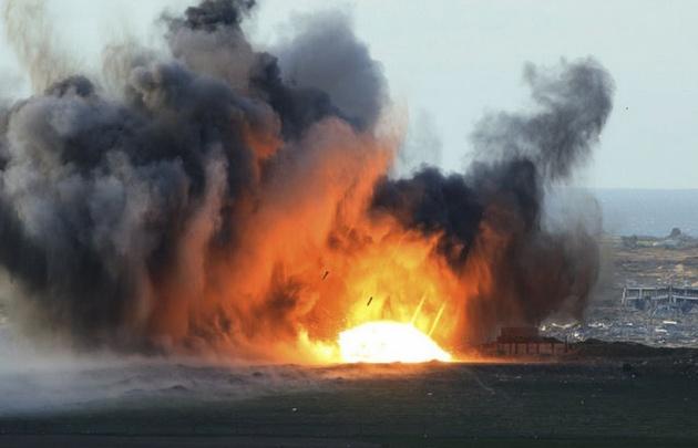 Estados Unidos arrojó ''la madre de todas las bombas''.