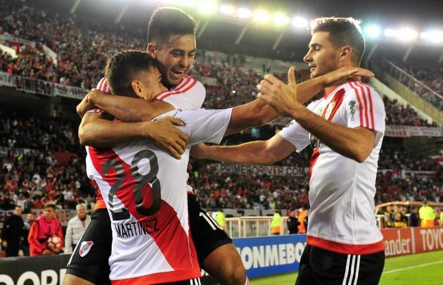 ''El Millo'' ganó y encabeza el Grupo 3 de la Libertadores con puntaje perfecto.
