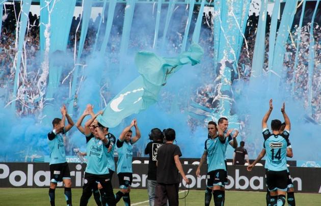 Belgrano jugó de local el sábado contra Talleres en el Kempes.