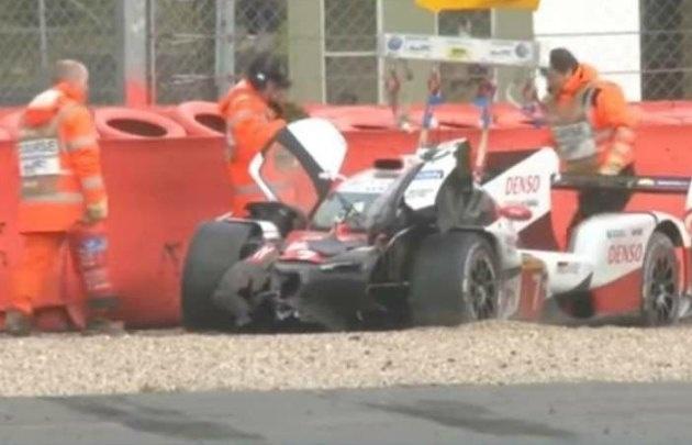 ''Pechito'' López sufrió un duro golpe en Silverstone.