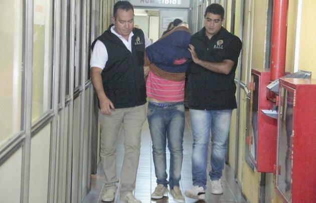 Sapito Gómez está detenido.