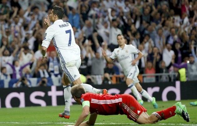 Cristiano Ronaldo fue clave para el triunfo de Real Madrid.