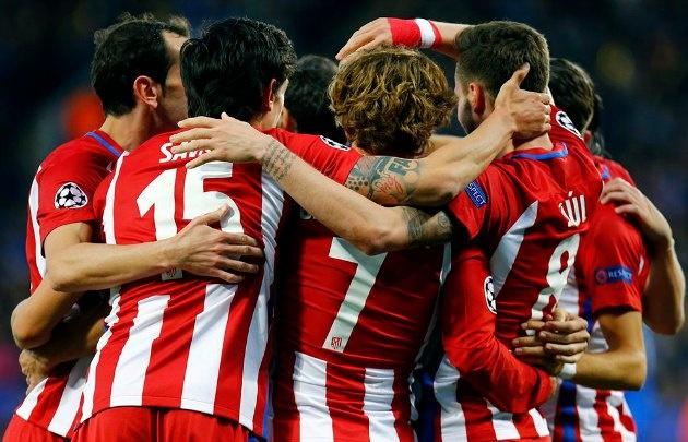 Atlético de Madrid está otra vez en semifinales.