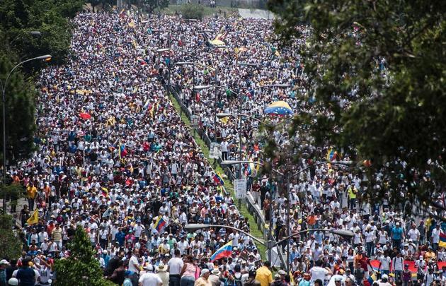 Desde que arrancaron las protestas contra Maduro, murieron siete personas.