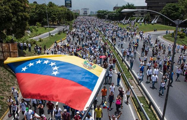 La crisis en Venezuela generó marchas y protestas en las que hubo muertos.